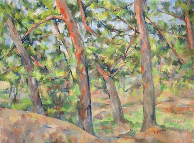 赤松の林(2)_c0236929_23160654.jpg