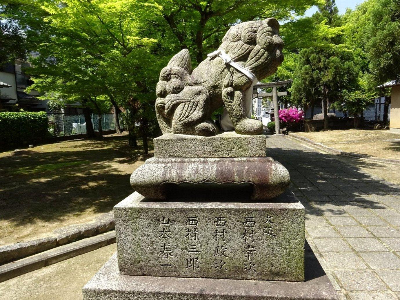 女九神社(茨木市)_c0112559_07173410.jpg