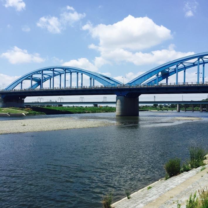 多摩川で朝ごはん_f0054260_10155319.jpg
