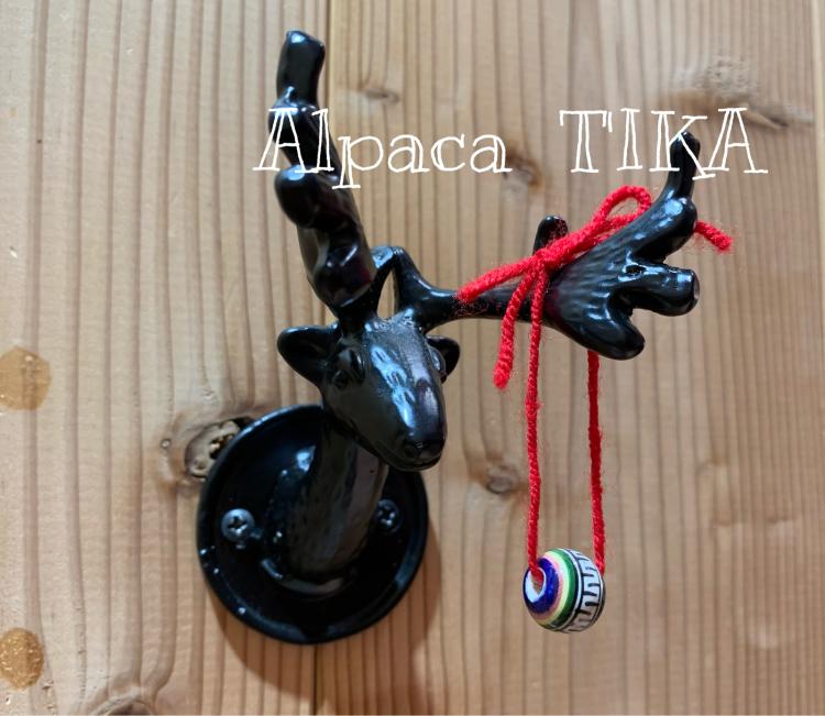 ペルーの陶製手描きボタン・陶製手描きビーズセット_d0187468_16352993.jpg