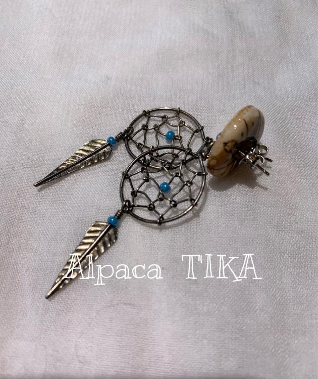 ペルーの陶製手描きボタン・陶製手描きビーズセット_d0187468_16442752.jpg
