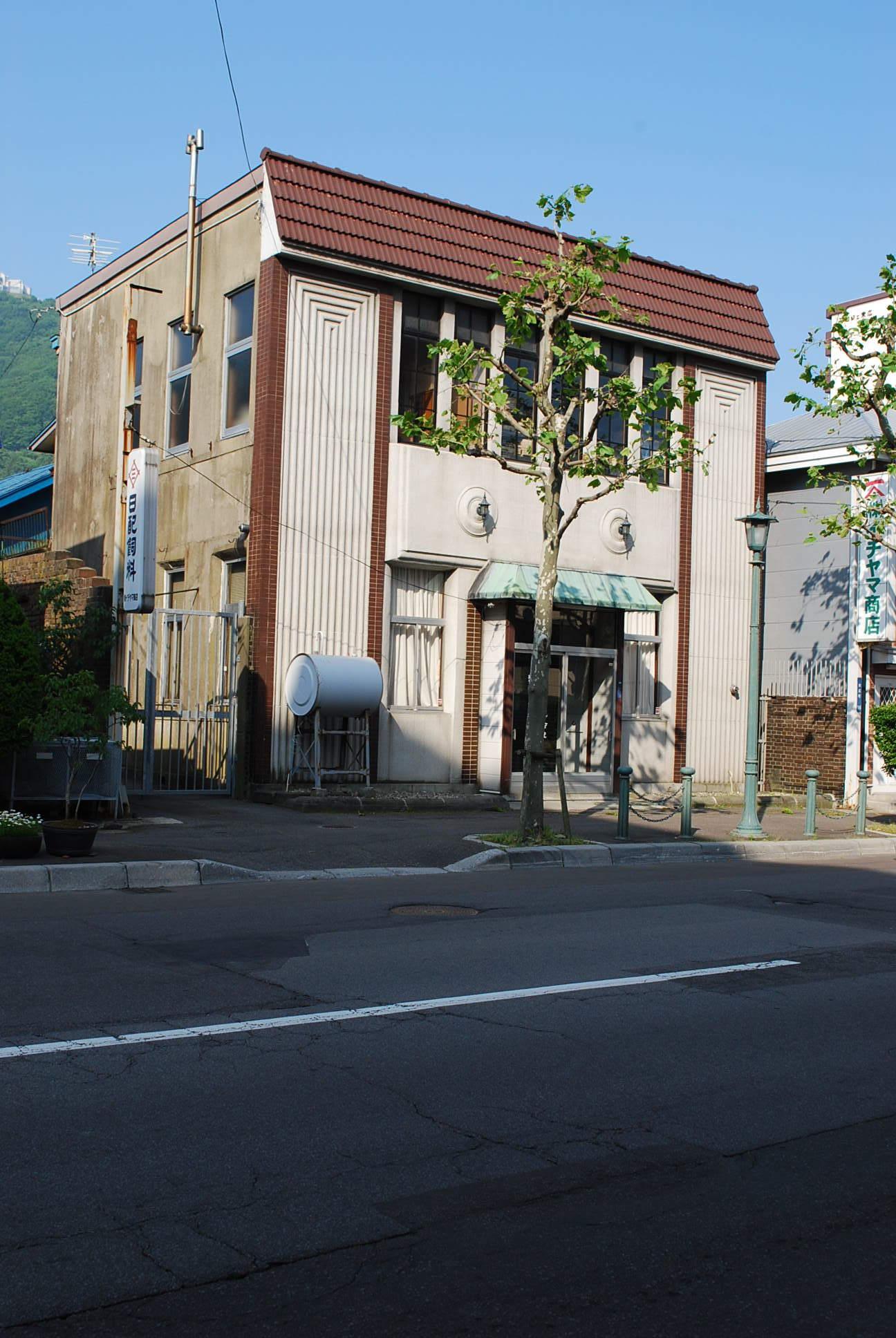 函館市末広町のイチヤマ商店(建築家・関根要太郎作品研究2021)_f0142606_17535817.jpg