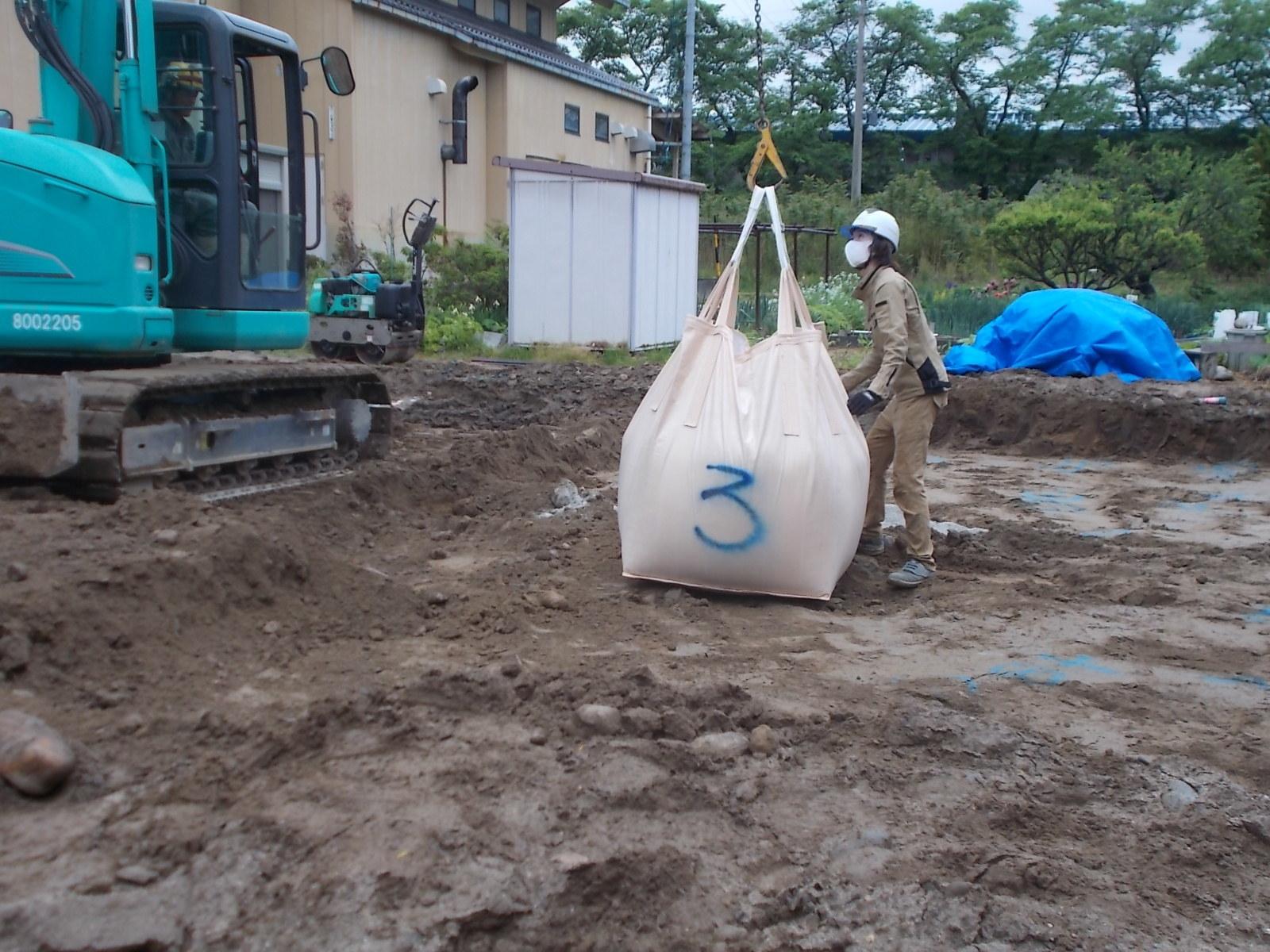 池田町2世帯の家の工事始まりました。_c0218716_13404222.jpg