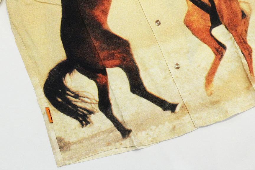 """BUTTER GOODS (バターグッズ) \"""" HORSE S/S SHIRT \""""_b0122806_13060585.jpg"""