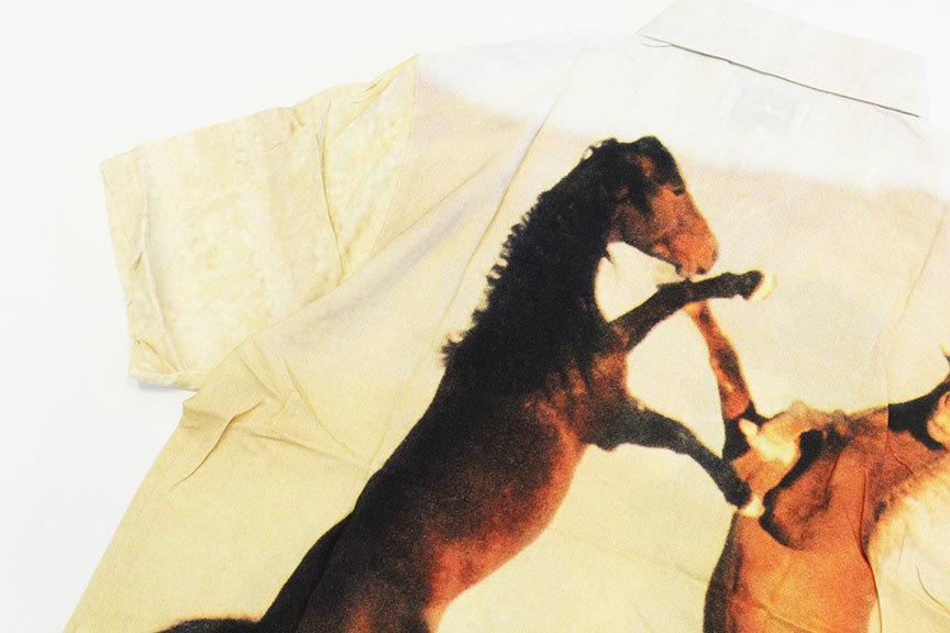 """BUTTER GOODS (バターグッズ) \"""" HORSE S/S SHIRT \""""_b0122806_13061745.jpg"""