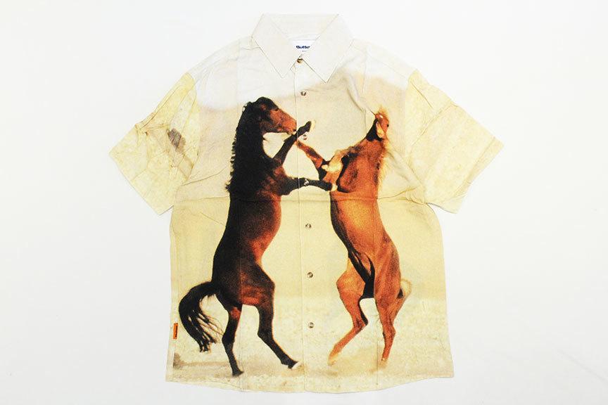 """BUTTER GOODS (バターグッズ) \"""" HORSE S/S SHIRT \""""_b0122806_13063716.jpg"""