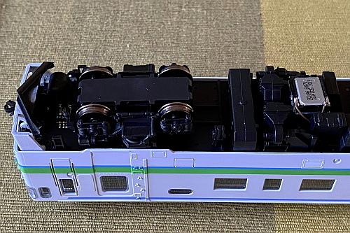 ポポプロ(トラムウェイ)キハ40 JR北海道色をDCCサウンド化_f0037227_20365111.jpg