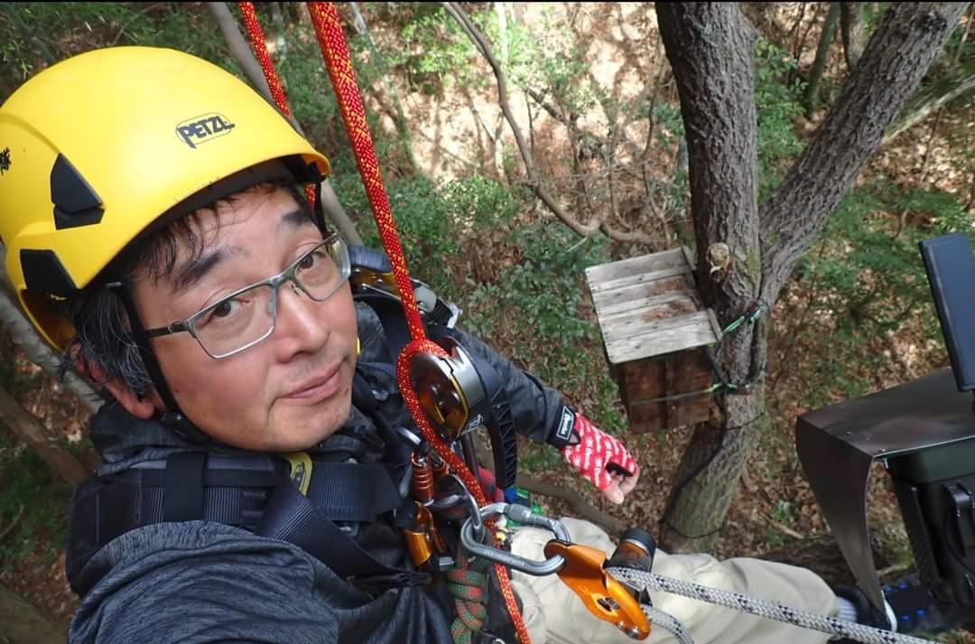 ロープアクセスで木登り_b0001143_21124660.jpg