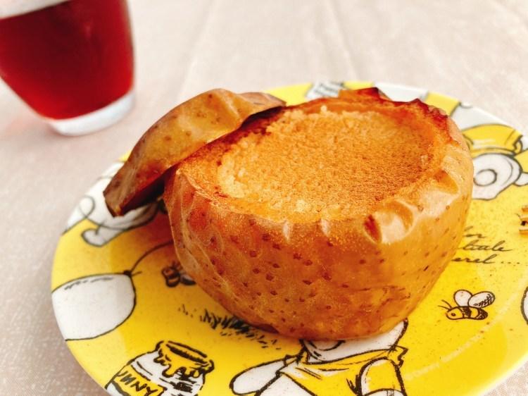 【ヴィーガン】美味しくてヘルシーなお手軽スイーツ!丸ごとりんごケーキの作り方・レシピ【大豆】_c0405952_03355644.jpg