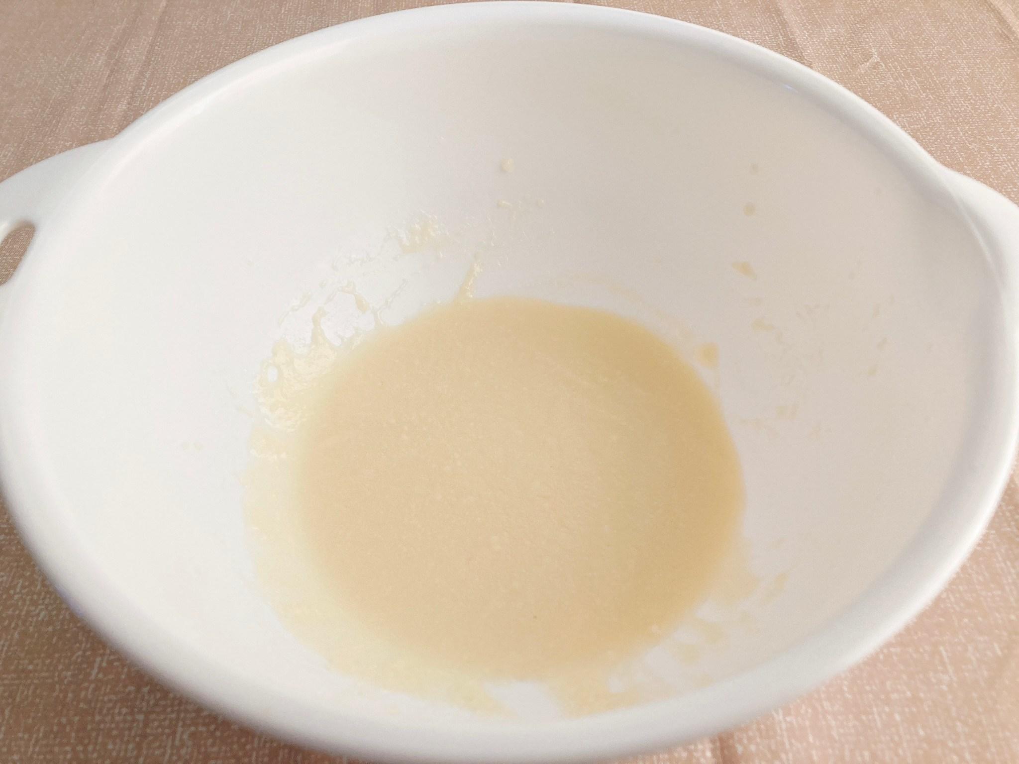 【ヴィーガン】美味しくてヘルシーなお手軽スイーツ!丸ごとりんごケーキの作り方・レシピ【大豆】_c0405952_03373529.jpg