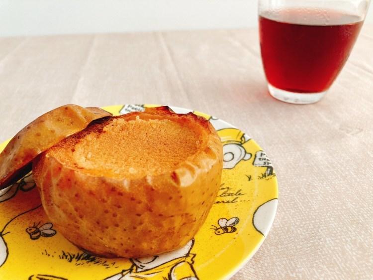 【ヴィーガン】美味しくてヘルシーなお手軽スイーツ!丸ごとりんごケーキの作り方・レシピ【大豆】_c0405952_03382463.jpg