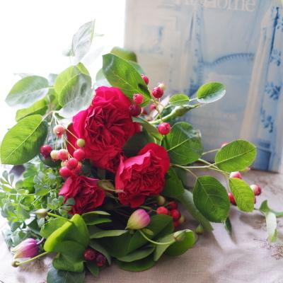 オークリーフ(母の日の花束)_f0049672_09075585.jpg