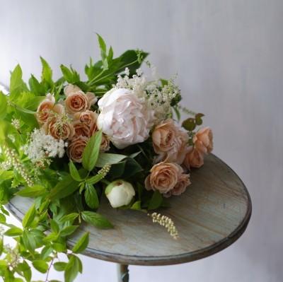 オークリーフ(母の日の花束)_f0049672_09113675.jpg