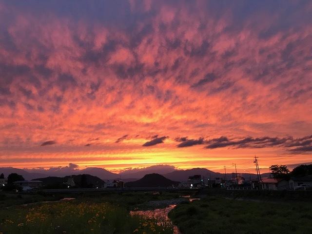 心洗われる夕陽・・・いかがですか(*^-^*)_f0085982_21203415.jpg