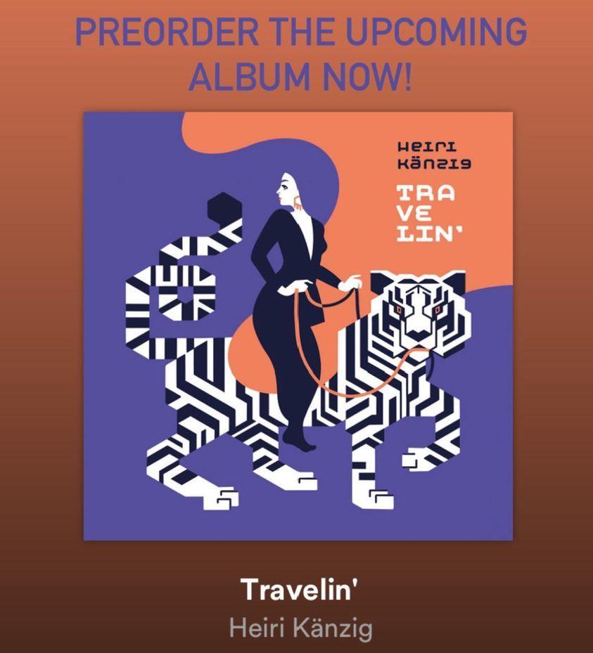 "Heiri Känzig の新しいソロ・アルバム \""Travelin\'\""_e0081206_10574728.jpg"