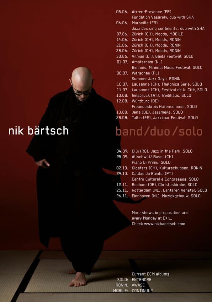 Nik Baertsch 関連のライヴ日程_e0081206_19545466.jpg
