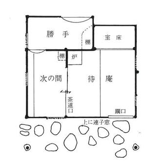 如庵の写し、大磯の茶室「城山庵」を見学しました。_c0195909_12100585.jpg