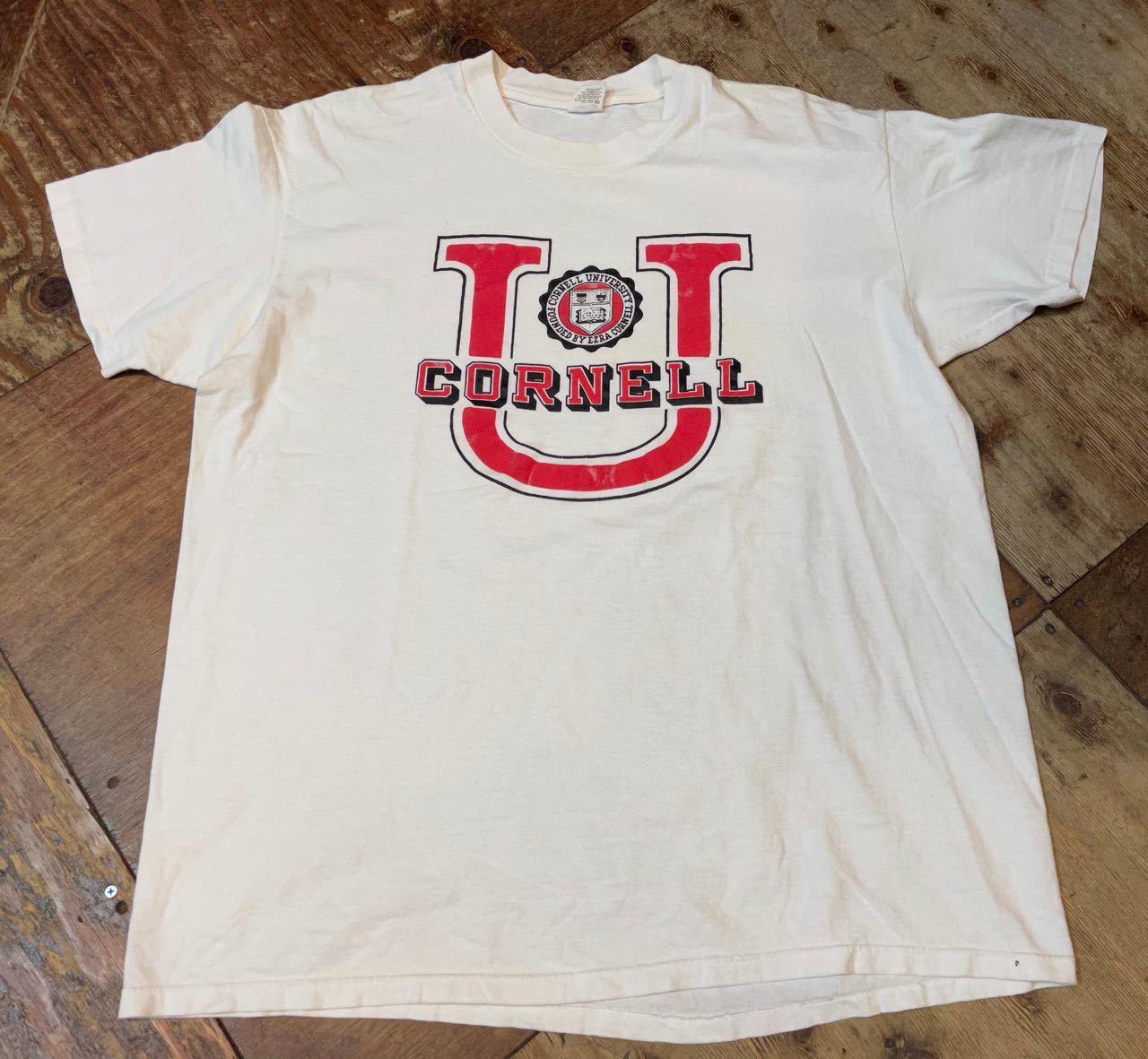 6月6日(日)入荷!all cotton 80s VELVASHEEN CORNELL 大学 IVYリーグ Tシャツ!_c0144020_15463294.jpg