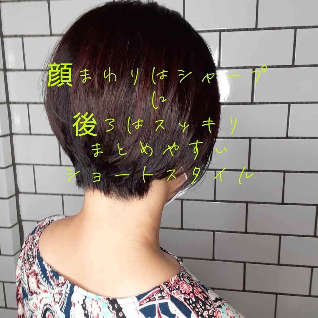 スッキリ系ショート!&再度のおしりらせ_a0272765_14243357.jpg