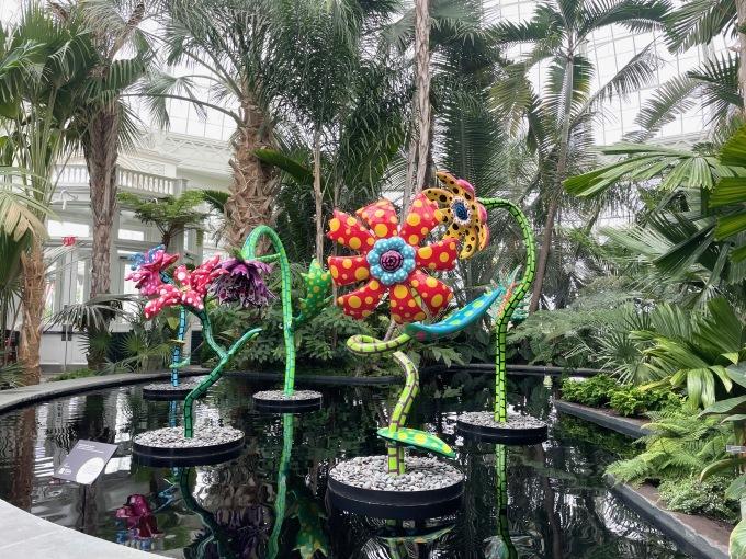 草間彌生になってNY植物園のKUSAMA展に行ったら、すごいことになった!_c0050387_16162023.jpeg