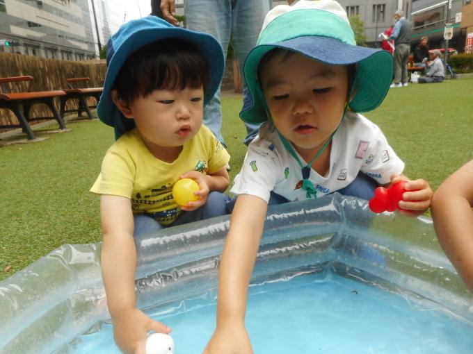 水遊びスタート!!_d0148342_13064889.jpg