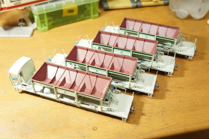 【鉄道模型・HO】西武ホキ81を作る・4_c0162772_21294991.jpg