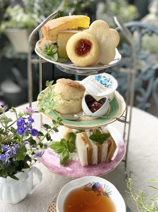 Cha Tea英国菓子セットでアフタヌーンティー_c0188784_17470595.jpeg