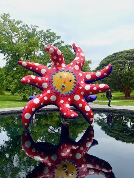 草間彌生になってNY植物園のKUSAMA展に行ったら、すごいことになった!_c0050387_03071528.jpeg