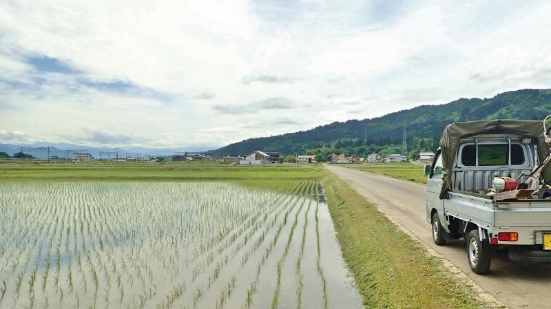 先週末の兼業農家はシーズン最初の田んぼの草刈り作業_c0336902_18260402.jpg