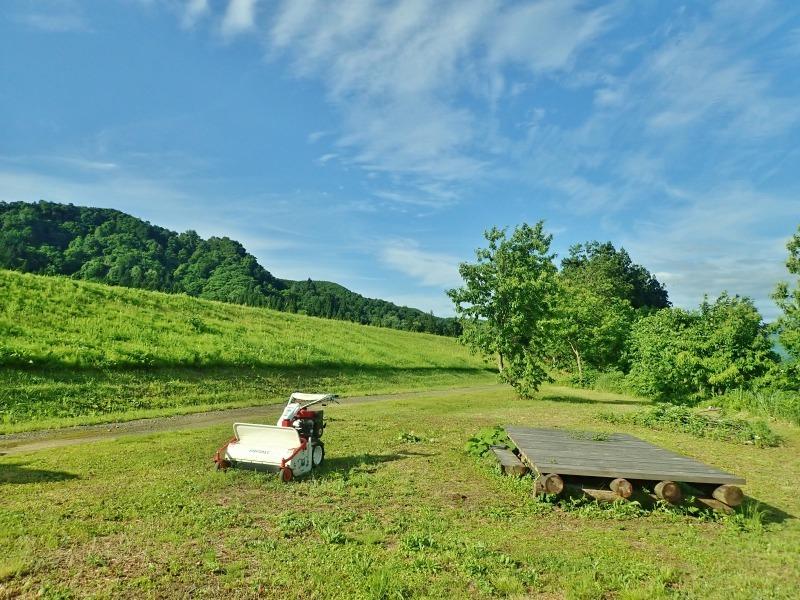 フットパスコースは2回目の草刈へ_c0336902_18513457.jpg