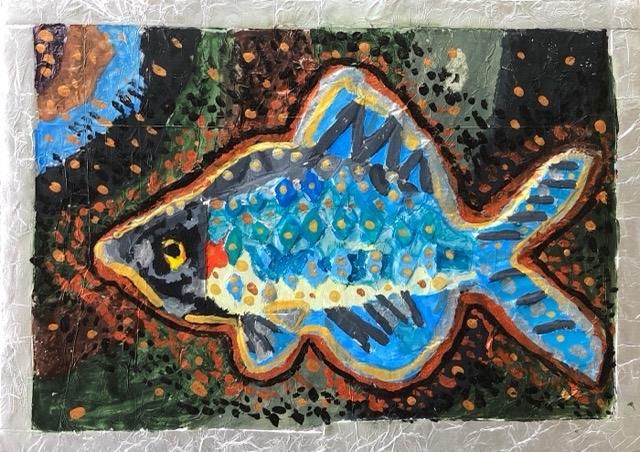 稲沢教室、完成したアルミの魚を紹介します。6_f0373324_16190217.jpg