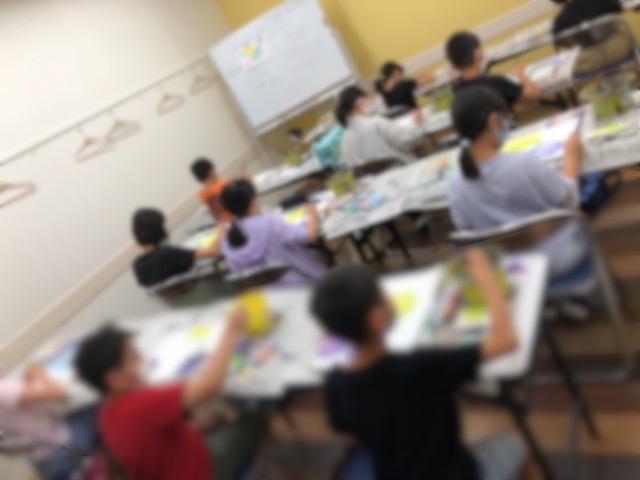 アピタ稲沢、友遊カルチャー、日曜こども絵画教室1_f0373324_16205725.jpg
