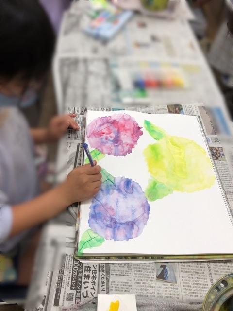 アピタ稲沢、友遊カルチャー、日曜こども絵画教室1_f0373324_16205895.jpg