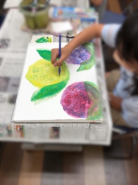 アピタ稲沢、友遊カルチャー、日曜こども絵画教室II_f0373324_16215438.jpg