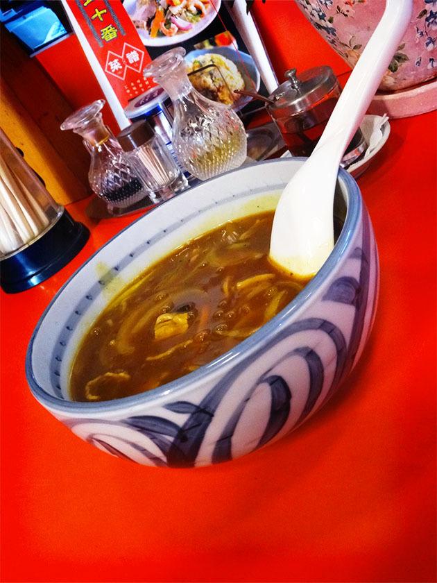 久里浜『中華 五十番』の「麺類料理/カレーラーメン」_c0119263_15185059.jpg
