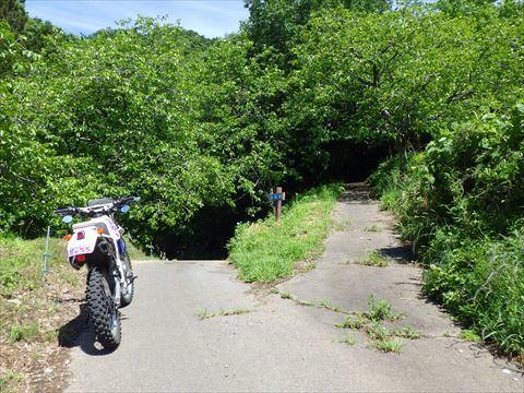 北へ向かって山道を走る_b0080681_18173885.jpg