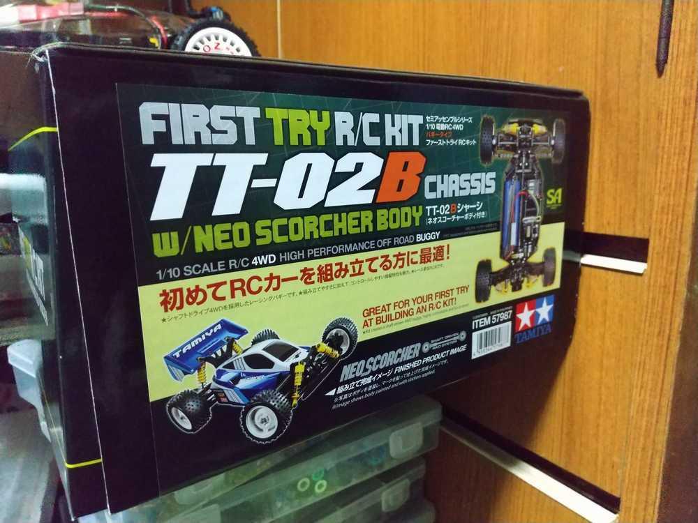 TT-02 XV-01サス仕様ラリー_f0100844_20374354.jpg