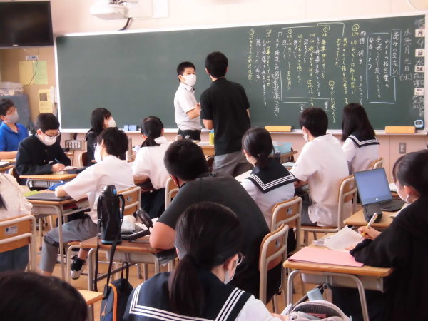 6/9(水) 本日の授業の様子_d0383872_13372738.jpg