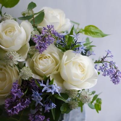 オークリーフ(ライラックと白バラ)_f0049672_08050600.jpg
