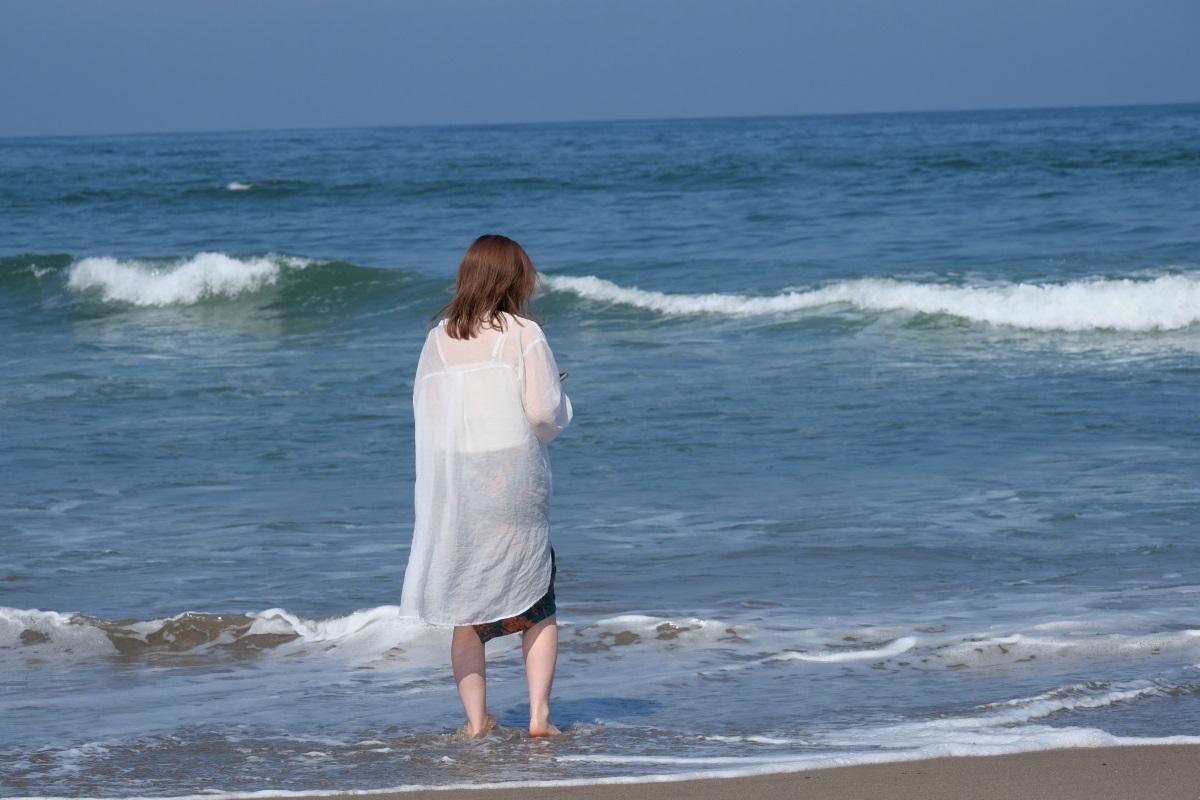 海を見ていた午後 日立市河原子海岸にて 2021・06・09_e0143883_18342440.jpg