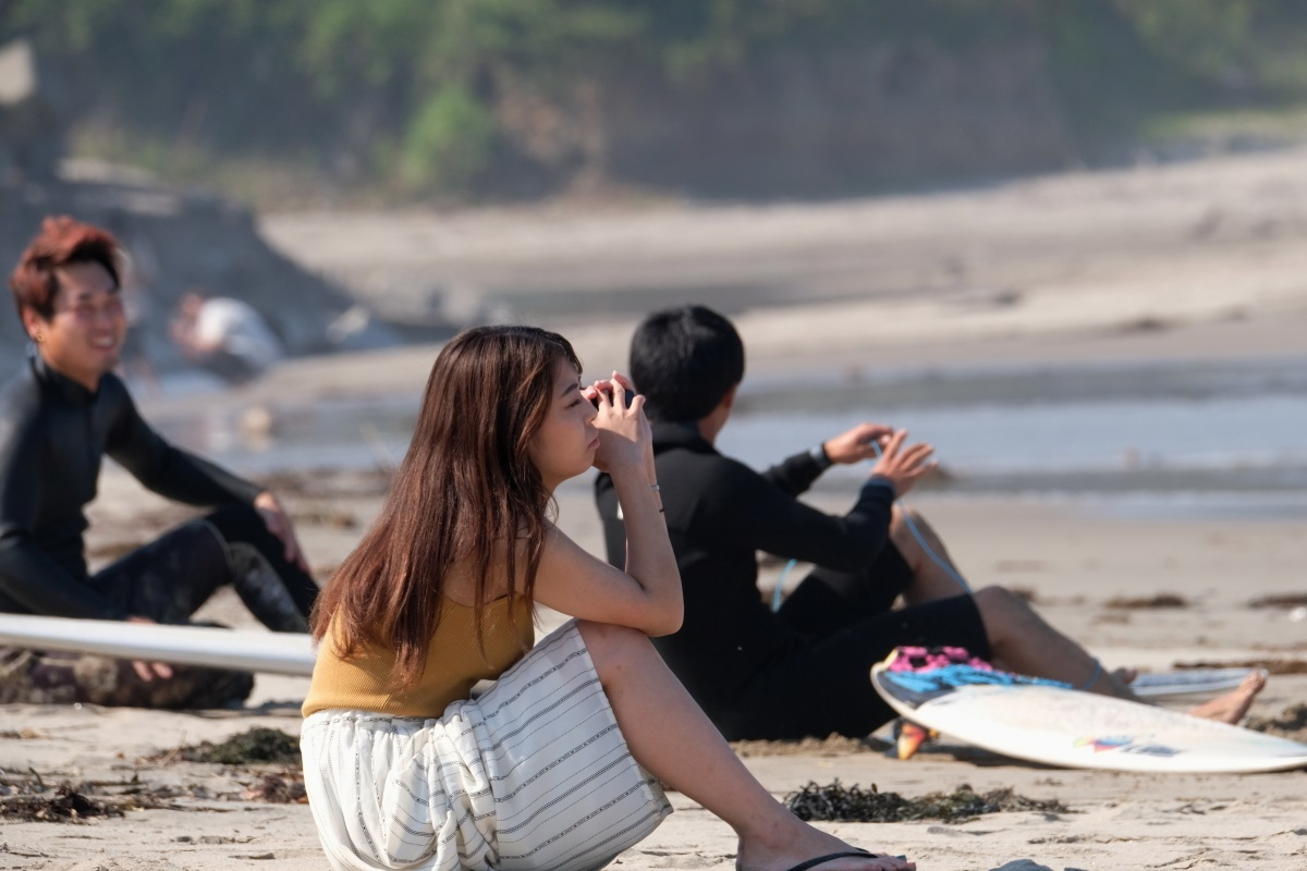 海を見ていた午後 日立市河原子海岸にて 2021・06・09_e0143883_18344875.jpg