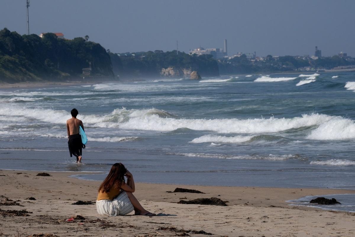 海を見ていた午後 日立市河原子海岸にて 2021・06・09_e0143883_18353155.jpg