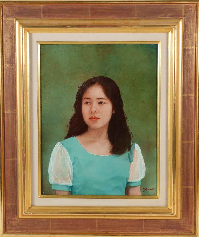 絵画の部屋(7)藤井勉「少女」6F_a0396125_23411606.jpg