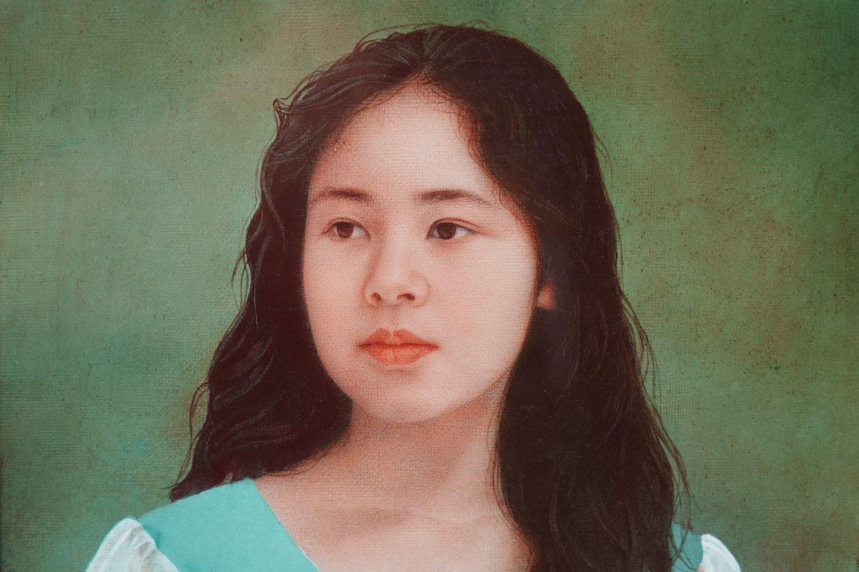絵画の部屋(7)藤井勉「少女」6F_a0396125_23412402.jpg
