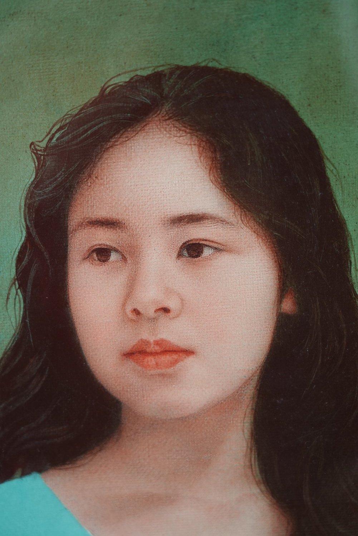 絵画の部屋(7)藤井勉「少女」6F_a0396125_23413109.jpg