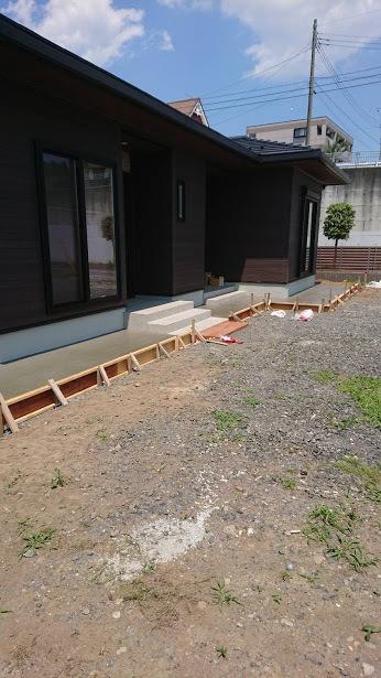 筑西市S様邸(エクステリア工事)続き_c0313938_10311966.jpg