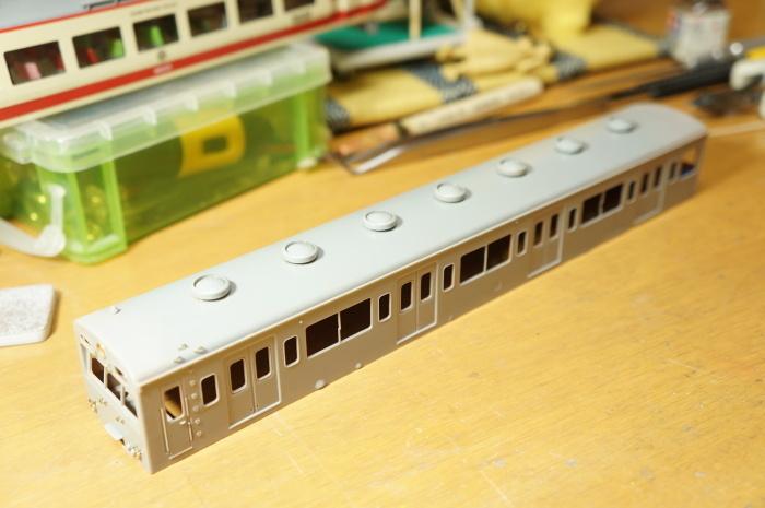 【鉄道模型・HO】101系再生計画・7_c0162772_21385038.jpg