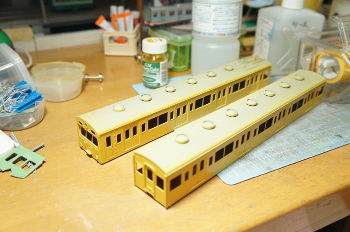 【鉄道模型・HO】101系再生計画・7_c0162772_21404235.jpg