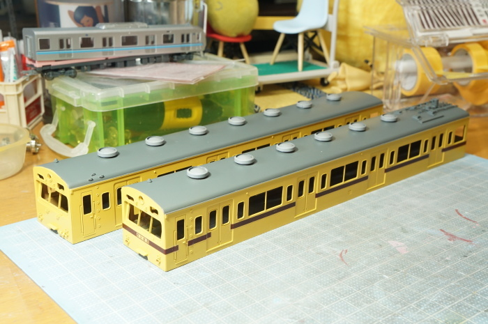 【鉄道模型・HO】101系再生計画・8_c0162772_10010438.jpg