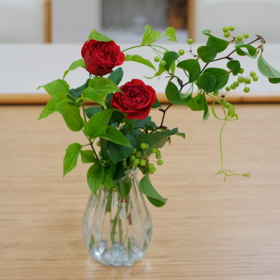 オークリーフ(絵画教室の花28)_f0049672_18491264.jpg